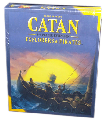 Catan: Explorers & Pirates 5-6 players expansion 5th edition