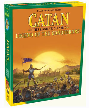 Catan Legend of The Conquerors Cities & Knights Scenario