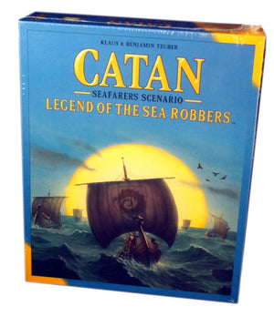 Catan Seafarers Scenario, Legend of the sea Robbers Expansion
