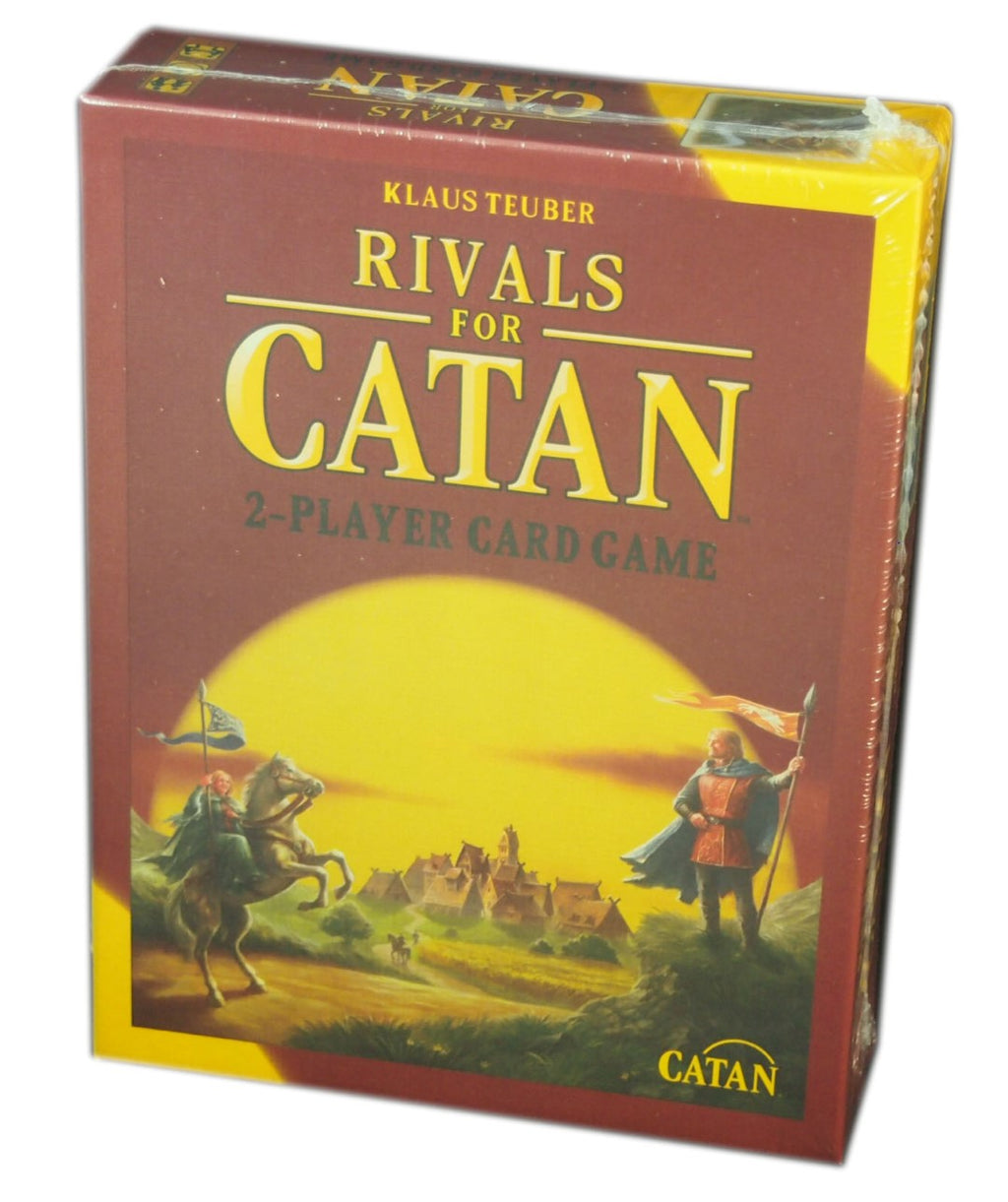 Rivals for Catan 2-Players Card Game