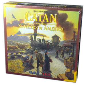 Catan Histories : Settlers of America, Trails to Rails