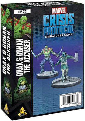 Marvel Crisis Protocol Drax & Ronan The Accuser Character Pack CP20