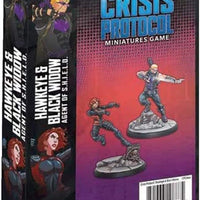 Marvel Crisis Protocol Hawkeye & Black Widow Character Pack CP24