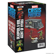 Marvel Crisis Protocol Deadpool & Bob Agent of Hydra Character Pack