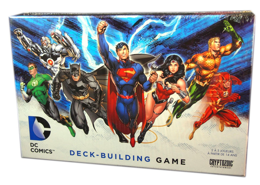 DC Comics Deck Building Game, Base Game (French)