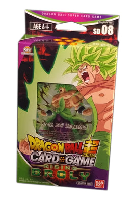 Dragon Ball Super Card Game, Rising Broly Starter Deck 08