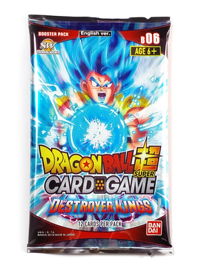 Dragon Ball Super Card Game, Destroyer King (1 Booster Pack)
