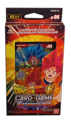 Dragon Ball Super Card Game, Destroyer Kings Special Pack 06