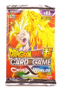 Dragon Ball Super Card Game, Cross Worlds B03 (1 Booster Pack)