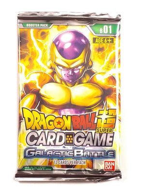 Dragon Ball Super Card Game, Galactic Battle B01 (1 Booster Pack)