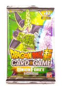 Dragon Ball Super Card Game, Union Force B02 (1 Booster Pack)