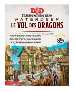 D&D 5e Édition Écran Waterdeep Le Vol des Dragons (French Edition)