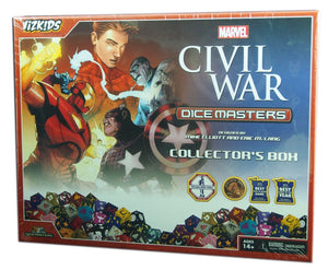 Marvel Dice Masters : Civil War Collector's Box