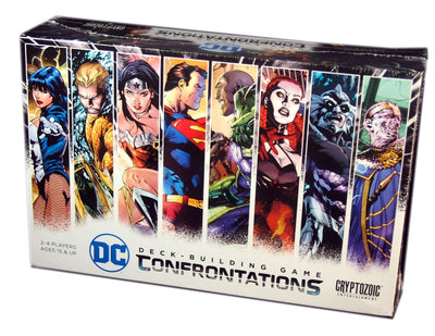 DC Comics Deck Building Game, Confrontations Expansion