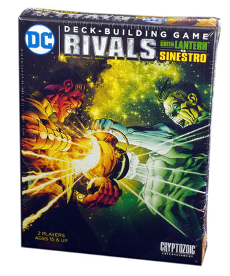 DC Comics Deck Building Game Rivals, Green Lantern Vs Sinestro