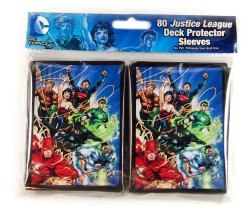 Dc Comics Deck Protector, Justice League, 80 Sleeves