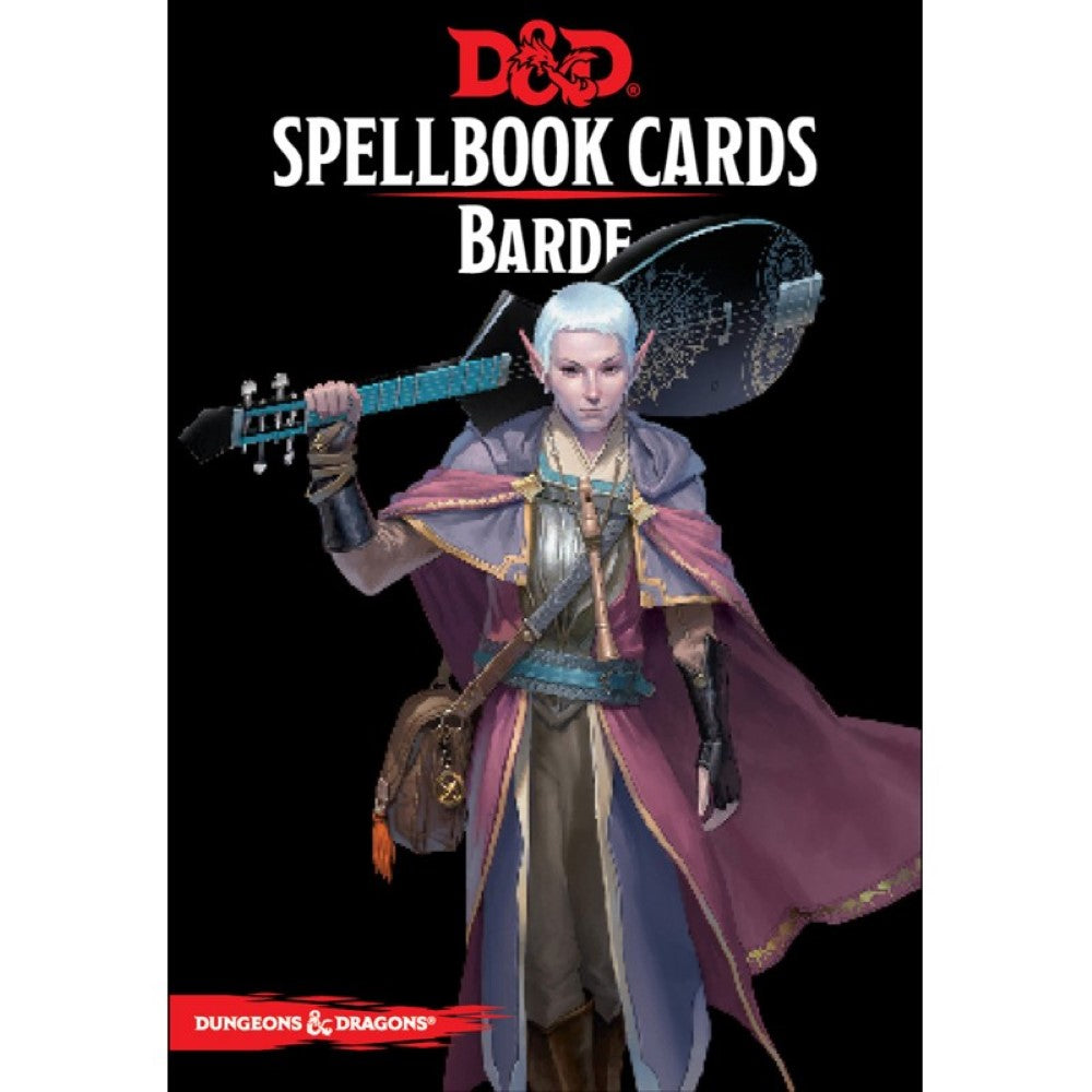 D&D 5e Édition Spellbook Cards Barde (French Edition)
