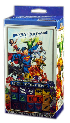 Dc Universe Dice Masters : Justice League, 2 Players Starter