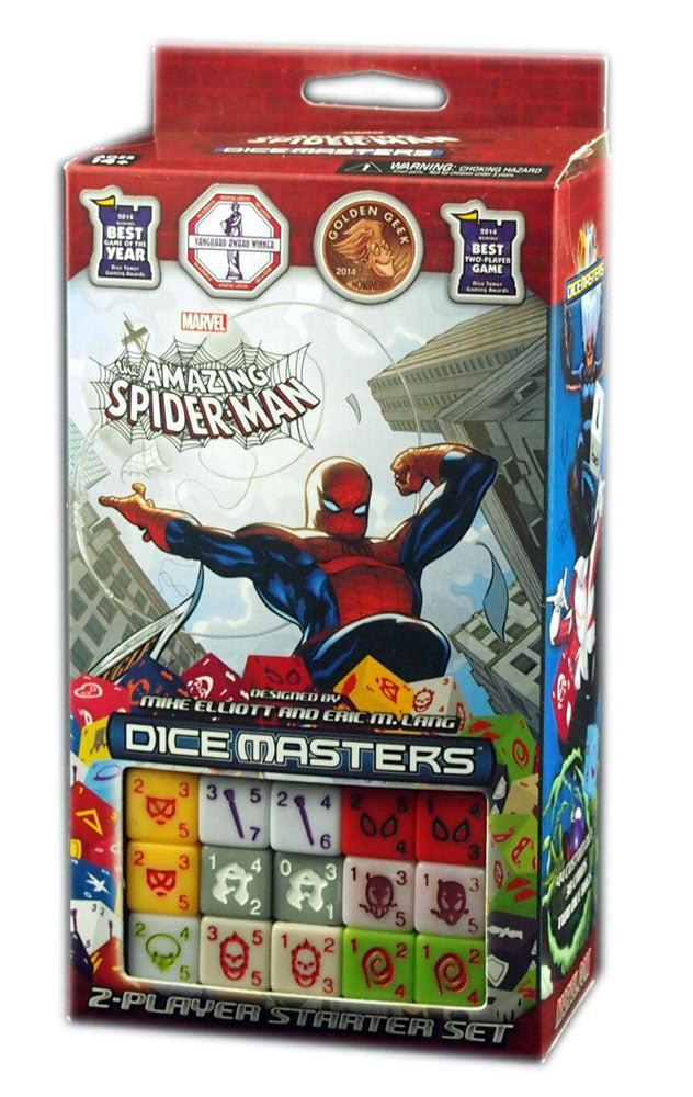 Marvel Dice Masters: Spider-man, 2 Players Starter Set