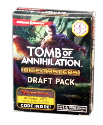 Dungeons & Dragons Dice Masters: Tomb of annihilation Draft Pack
