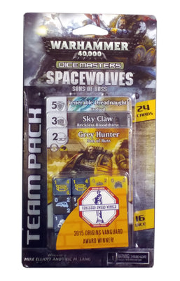 Warhammer 40000 Dice Masters : Spaceswolves Sons of Russ Team Pack
