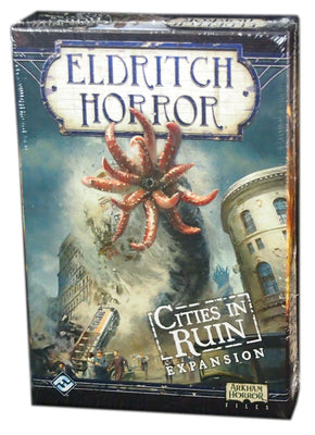 Eldritch Horror Cities in Ruins Expansion