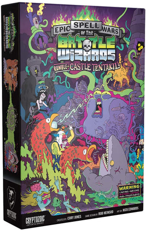 Epic Spell Wars of the Battle Wizards II Rumble at Castle Tentakill