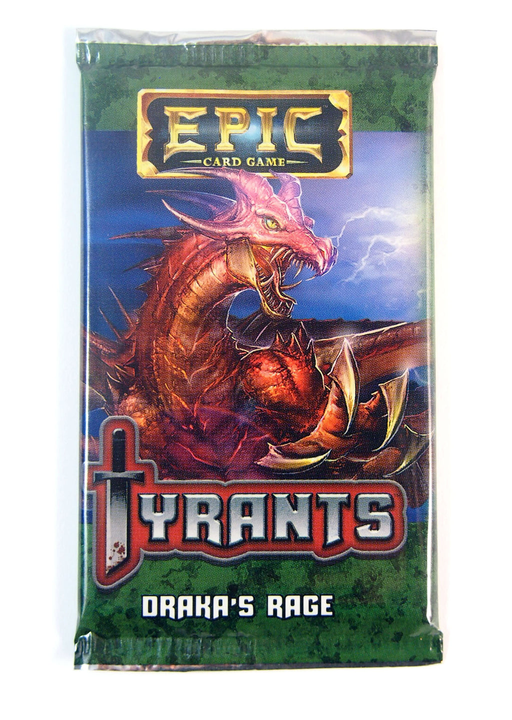 Epic Card game Tyrants, Draka's Rage Expansion