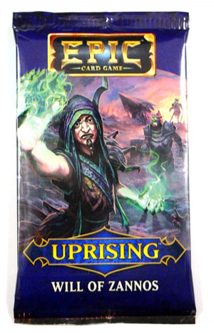 Epic Card game Uprising, Will of Zannos Expansion