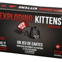 Exploding Kittens le jeu de carte,  Édition NSFW (French Edition)