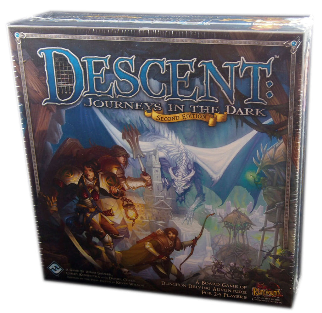 Descent, Journeys in the Dark, Second Edition