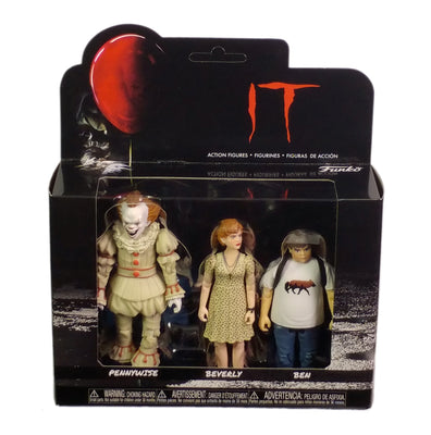 Action Figs, Steven King It, Pennywise Beverly and Ben