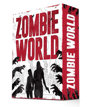 Zombie World Card-Based Tabletop RPG
