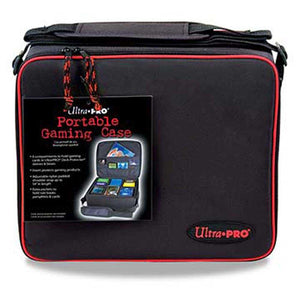 Portable Gaming Case with Red Trim