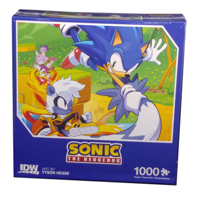 Sonic The Hedgehog, 1000 pieces Puzzle