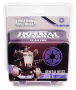 Imperial Assault, General Weiss Villain Pack
