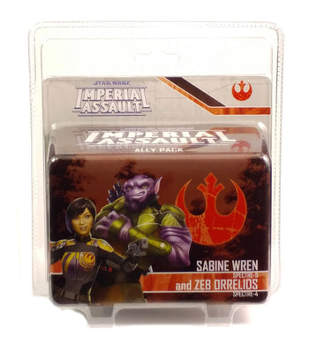 Imperial Assault, Sabine Wren and Zeb Orrelios Ally Pack