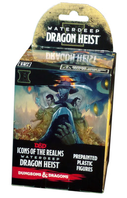 D&D Icons of the Realms Waterdeep Dragon Heist Booster Pack