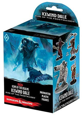D&D Icons of the Realms Icewind Dale Rime of The Frostmaiden Booster Pack