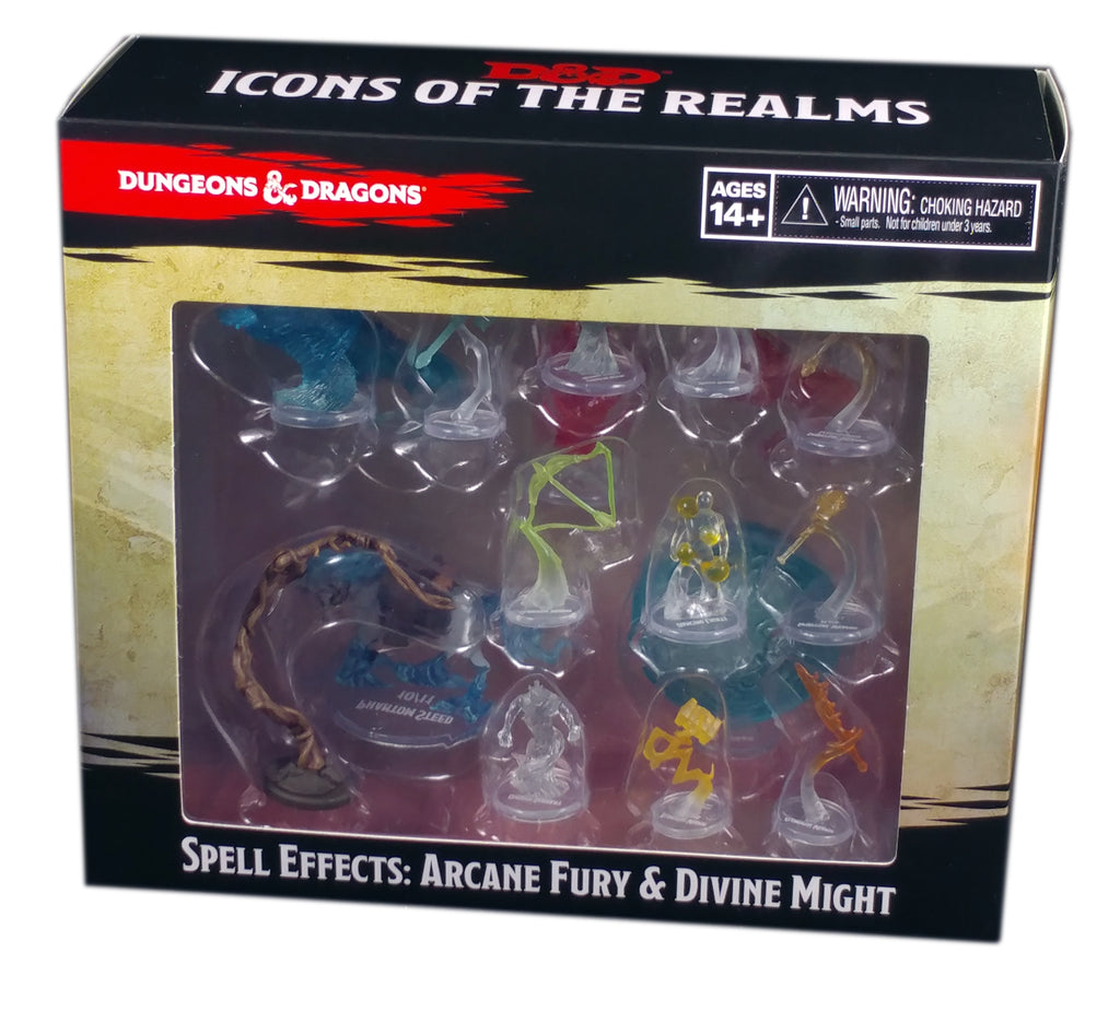 D&D: Icons of the Realms Spell Effects: Arcane Fury & Divine Might