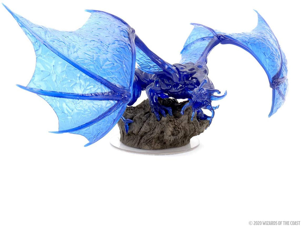 D&D Icons of the Realms Sapphire Dragon Premium Figure