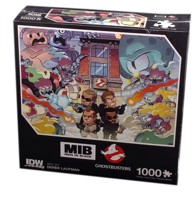 Men In Black / Ghostbusters, 1000 pieces Puzzle