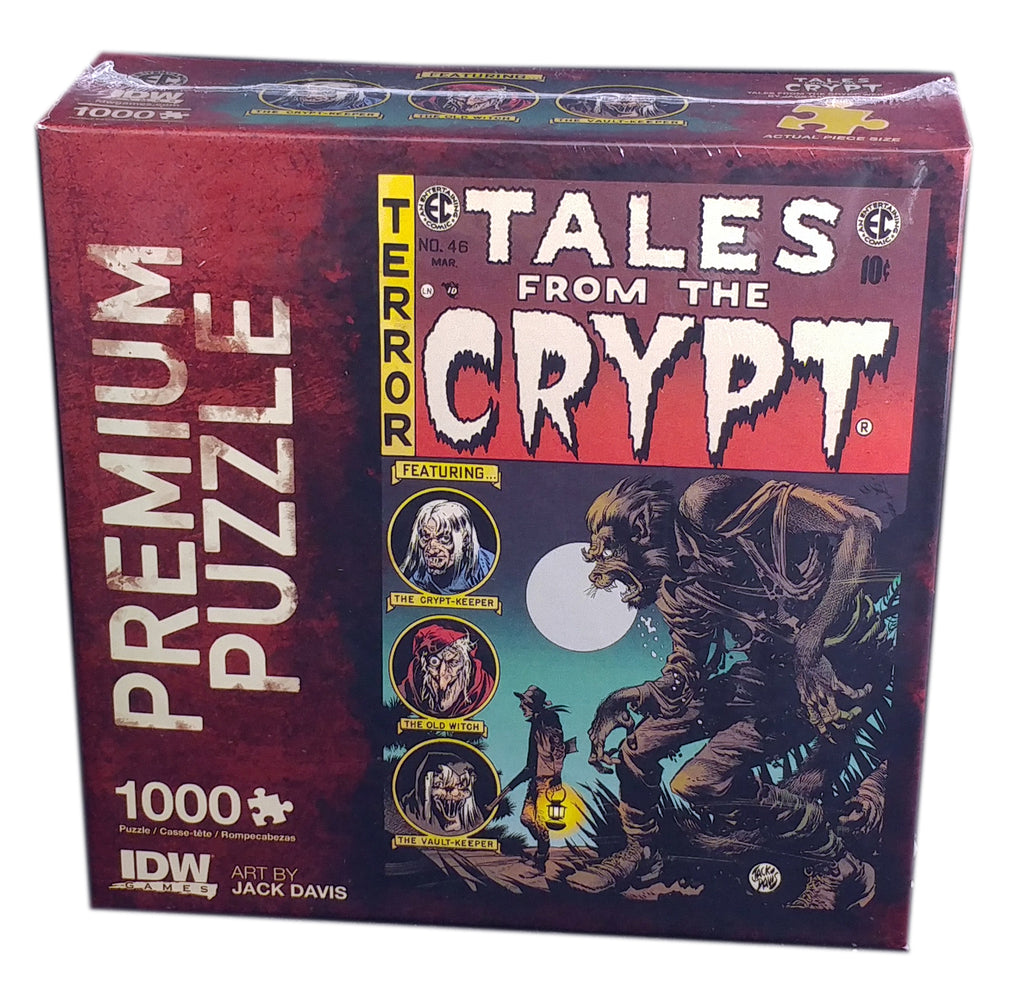 Tales Form the Crypt, 1000 pieces Puzzle