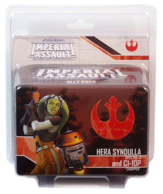 Imperial Assault, Hera Syndulla & C1-10P Ally Pack