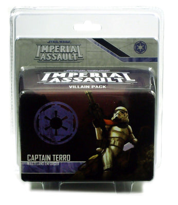 Imperial Assault, Captain Terro Villain Pack