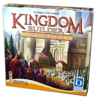 Kingdom Builder Nomads Expansion (Multilingual)