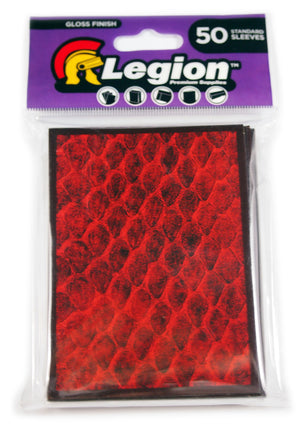 Dragon Hide deck Protector, Red