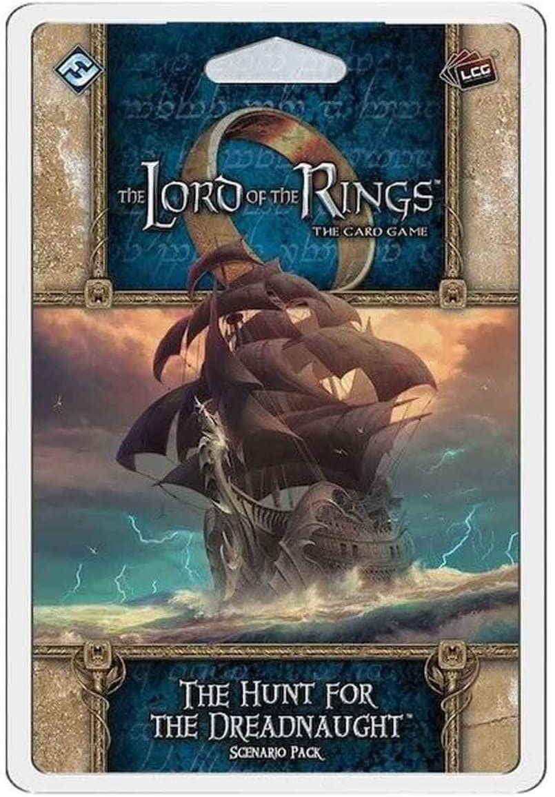 Lord of the Rings LCG, The Hunt For the Dreadnaught Scenario Pack