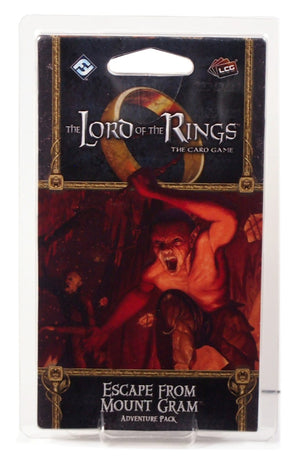 Lord of the Rings LCG, Escape From Mount Gram Adventure pack