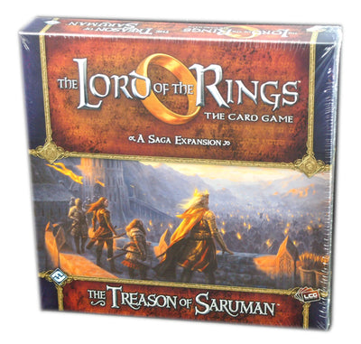 Lord of the Rings LCG, The Treason of Saruman expansion